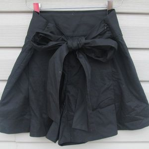 J. Crew High Waisted Black Shorts